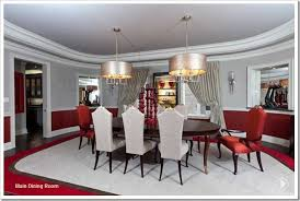 Chandelier Over Dining Room Table by Desire To Decorate Double Chandeliers