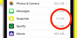 Clear Snapchat storage space on iPhone Business Insider