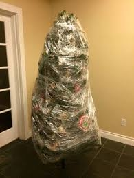 Saran Wrap Christmas Tree With Ornaments by Christmas Tree Storage Christmas Tree Storage Christmas Tree