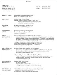 List Education On Resume Listing Examples In