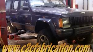 c2cfabrication restores a 1996 jeep cherokee rusted out floor pans