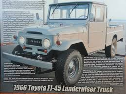 1966-toyota-land-cruiser-fj45-truck-japan-restored-a | Land Cruiser ... Check Out The Reissued Toyota Land Cruiser 70 Pickup Truck The 1964 Fj45 Landcruiser Still Powerful Indestructible Australia Ens Industrial Cruisers Top Cdition Waiting For You 2014 Speed Used Car Nicaragua 2006 1981 Bj45 Second Daily Classics 1978 Hj45 Long Bed Pickup Price 79 Pick Up Diesel Hzj Simple Cabin