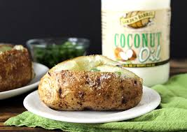 The Perfect Baked Potato Made With Golden Barrel Coconut Oil