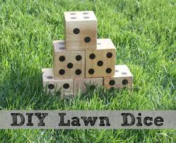 DIY Wooden Yard Dice - Sometimes Homemade 2 Crafty 4 My Skirt Round Up Back Yard Games Amazoncom Poof Outdoor Jarts Lawn Darts Toys These Fun And Funny Minute To Win It Are Perfect For Your How Play Kubb Youtube The Best 32 Backyard That You Can Enjoy With Your Loved Ones 25 Diy Unique Games Ideas On Pinterest Diy Giant Yard Rph In Blue Heels 3rd Annual Beer Olympics