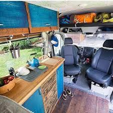 Conversion Van Interior Ideas With Sensational Nuances 19