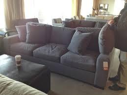 crate and barrel microfiber sectional sofa centerfieldbar com