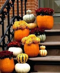 Creative Outdoor Pumpkin Decorations Outdoor Decorations