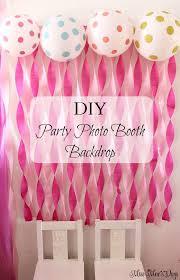 Best 25 DIY Birthday Backdrop Ideas On Pinterest