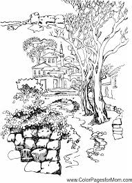 Landscape Coloring Page 37