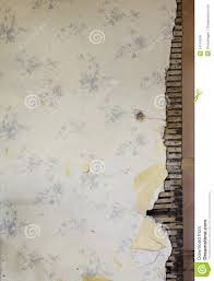 Old Wallpaper Wall Stock Photo Image Of Aged Victorian
