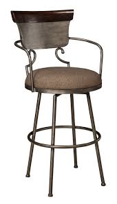 The Moriann Metallic Bar Height Stool