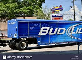 100 Bud Light Truck Truck Parked At Gas Station Stock Photo 138569952 Alamy