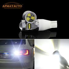 2x t15 white with philips chips led backup rear light