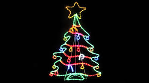 Menards Christmas Trees White by Christmas Christmass Outdoor Findsrope Led Clearance Red