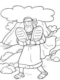 Trend Ten Commandments Coloring Pages 95 For Your Adults With