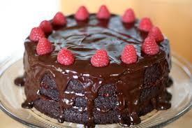 Raspberry Blackout Cake