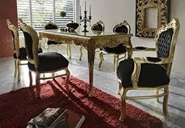 barock esszimmer set 1 tisch 6 stühle prunkvolles
