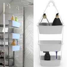 dusch und badhängeregal 2in1 duschhängeregal 3 ablagen hängeregal duschregal zum hängen duschablage badezimmer ablage
