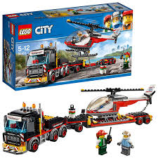 LEGO 60183 City Great Vehicles Heavy Cargo Transport Playset, Toy ... Lego City Race Car Transporter Truck Itructions Lego Semi Building Youtube Tow Jet Custom Vj59 Advancedmasgebysara With Trailer Instruction 6 Steps With Pictures Moc What To Build Legos Semitrailer Technic And Model Team Eurobricks And Best Resource