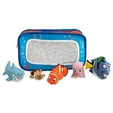 amazon com disney finding nemo bath toys for baby bathtub toys