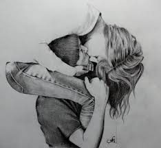 28 Collection Of Black Love Drawing