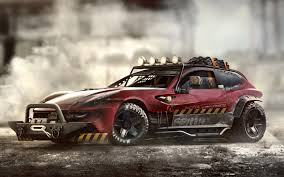 Ferrari FF Metal Mash Wallpaper