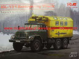 ZiL-131 Emergency Truck, Soviet Vehicle ICM 35518