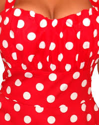 awesome red dress with white polka dots plus size gallery plus