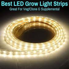 led grow light strips best for veg clone supplemental