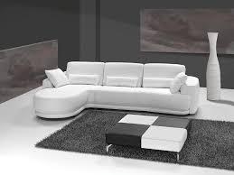 grand canapé d angle cuir italien blanc sofamobili