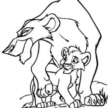 Coloring Pages Simbas Pride Fun Site
