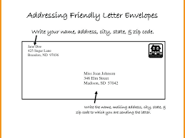 Letter Envelope Format Download Mail Format Letter Envelope Format