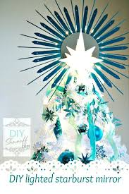 Lighted Mirror Topper Tree Toppers For Christmas Trees Star Festive Dress Holiday Cheer Ideas Amazon