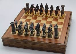 Online Shop Wooden Board Chess Set Resin Child Game The Warrior Characters Mold Classic International Cartoo Nice Gift