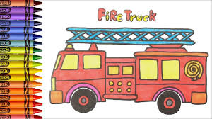 Learn Drawing For Childrens How To Draw Fire Truck Song Nursery ... Fascating Fire Truck Coloring Pages For Kids Learn Colors Pics How To Draw A Fire Truck For Kids Art Colours With How To Draw A Cartoon Firetruck Easy Milk Carton Station No Time Flash Cards Amvideosforyoutubeurhpinterestcomueasy Make Toddler Bed Ride On Toddlers Toy Colouring Annual Santa Comes Mt Laurel Event Set Dec 14 At Toonpeps Step By Me Time Meal Set Fire Dept Truck 3 Piece Diwasher Safe Drawing Childrens Song Nursery
