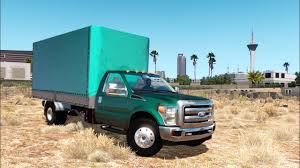 100 31 Ford Truck ATS FORD F450 MINI TRAILER 1 132 ATS Mods American