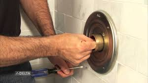 Bathtub Faucet Dripping Delta by How To Replace A Delta Tub Or Shower Cartridge Youtube