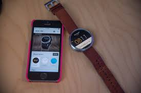 First impression Using my Moto 360 with iPhone 5s