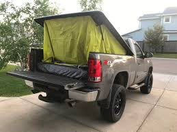 I Made A Custom Truck Tent! - Album On Imgur Truck Tent On A Tonneau Camping Pinterest Camping Napier 13044 Green Backroadz Tent Sportz Full Size Crew Cab Enterprises 57890 Guide Gear Compact 175422 Tents At Sportsmans Turn Your Into A And More With Topperezlift System Rightline F150 T529826 9719 Toyota Bed Trucks Accsories And Top 3 Truck Tents For Chevy Silverado Comparison Reviews Best Pickup Method Overland Bound Community The 2018 In Comfort Buyers To Ultimate Rides