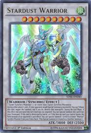 card tips stardust warrior yu gi oh fandom powered by wikia
