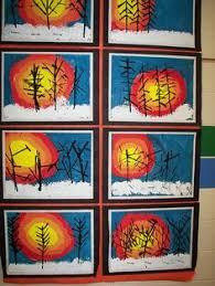 Impressive Kindergarten Winter Art Activity For Contemporary Experimental Think Process Not Product Inter