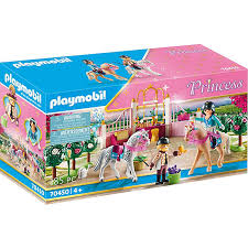 playmobil 70450 reitunterricht im pferdestall playmobil princess