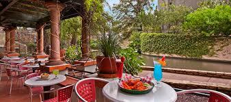 Los Patios San Antonio Tx by Hilton Palacio Del Rio Restaurants And Dining