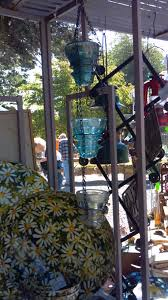 Decorative Rain Gauges Replacement Glass by Rain Chain Made Out Of Antique Glass Electric Insulators Saw This