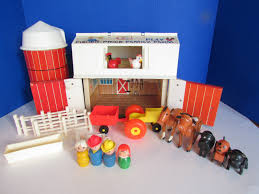 Vintage Fisher Price Little People Play Family Farm Barn Silo #915 ... Amazoncom Fisherprice Little People Fun Sounds Farm Vintage Fisher Price Play Family Red Barn W Doyourember Youtube Animal Donkey Cart Wspning Animals Mercari Buy Sell Things Toys Wallpapers Background Preschool Pretend Hobbies S Playset Farmer Hay Stackin Stable Walmartcom