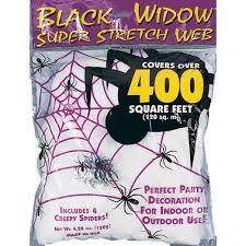 white spider web halloween decoration walmart com
