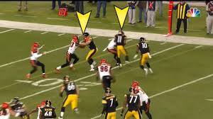 Steelers Behind The Steel Curtain by Six Key Plays In Steelers U0027 Afc North Clinching Win Over Bengals