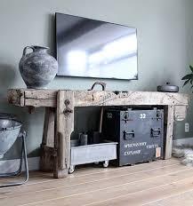 vintage werkbank minimalistisch wohnen schlafzimmer ideen