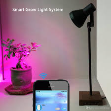 Smart 10W LED Plant Grow Lights Stand Desk with Bluetooth Timer