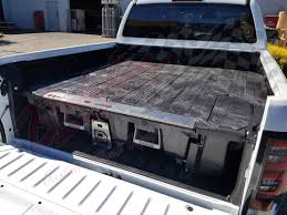 100 Truck Bed Drawers MITSUBISHI TRITON DUAL CAB 2015on DECKED TRUCK BED STORAGE SYSTEM